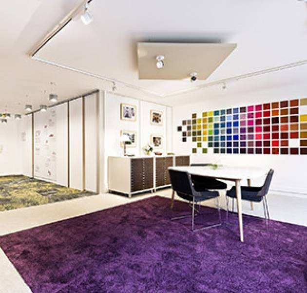 Notizie Showroom Parigi parete di colori