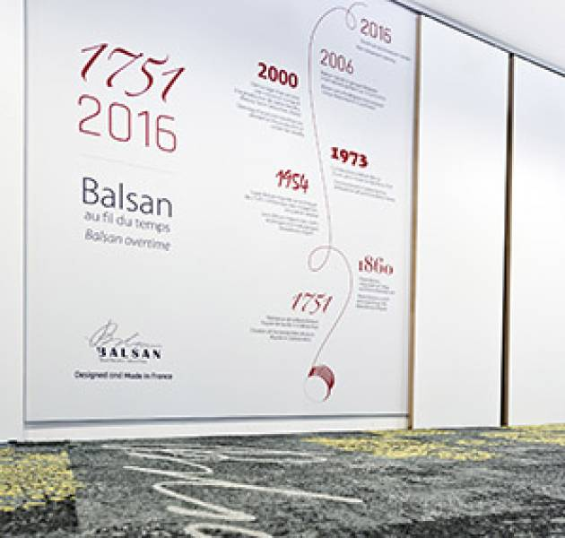 Notizie Showroom Parigi Timeline Balsan