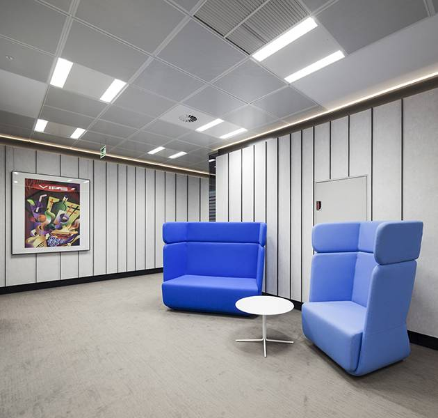 Inspiration Grande Reference office dalles Landscape groove rift salle de repos