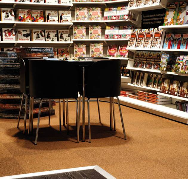 Inspiration Grande Reference Office hotel librairie Origami zone de lecture