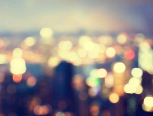 Inspiration urbain deco panorama urbain flou
