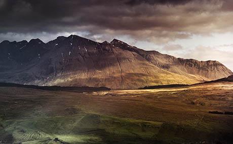Inspiration ciel terre deco montagnes