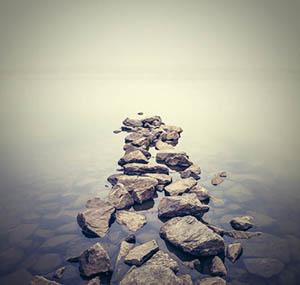 Inspiration ciel terre deco chemin pierres