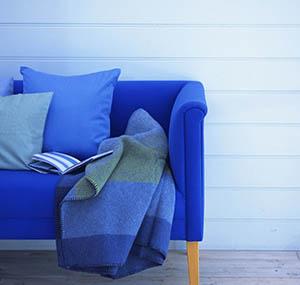 Inspiration couleurs deco canapes bleu