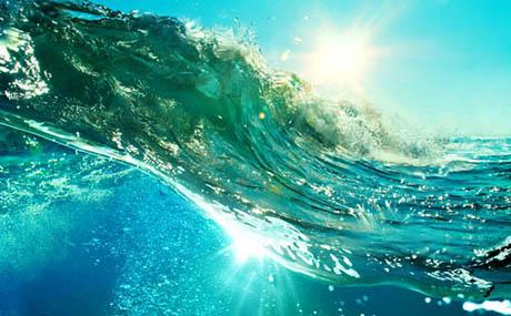 Inspiration deco ocean vague sous marine