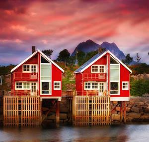 Inspiration polaire deco maisons scandinaves