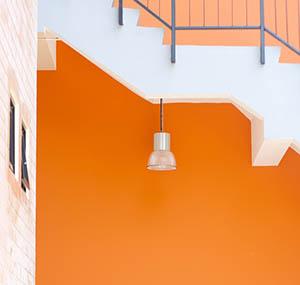 Inspiration couleurs deco orange